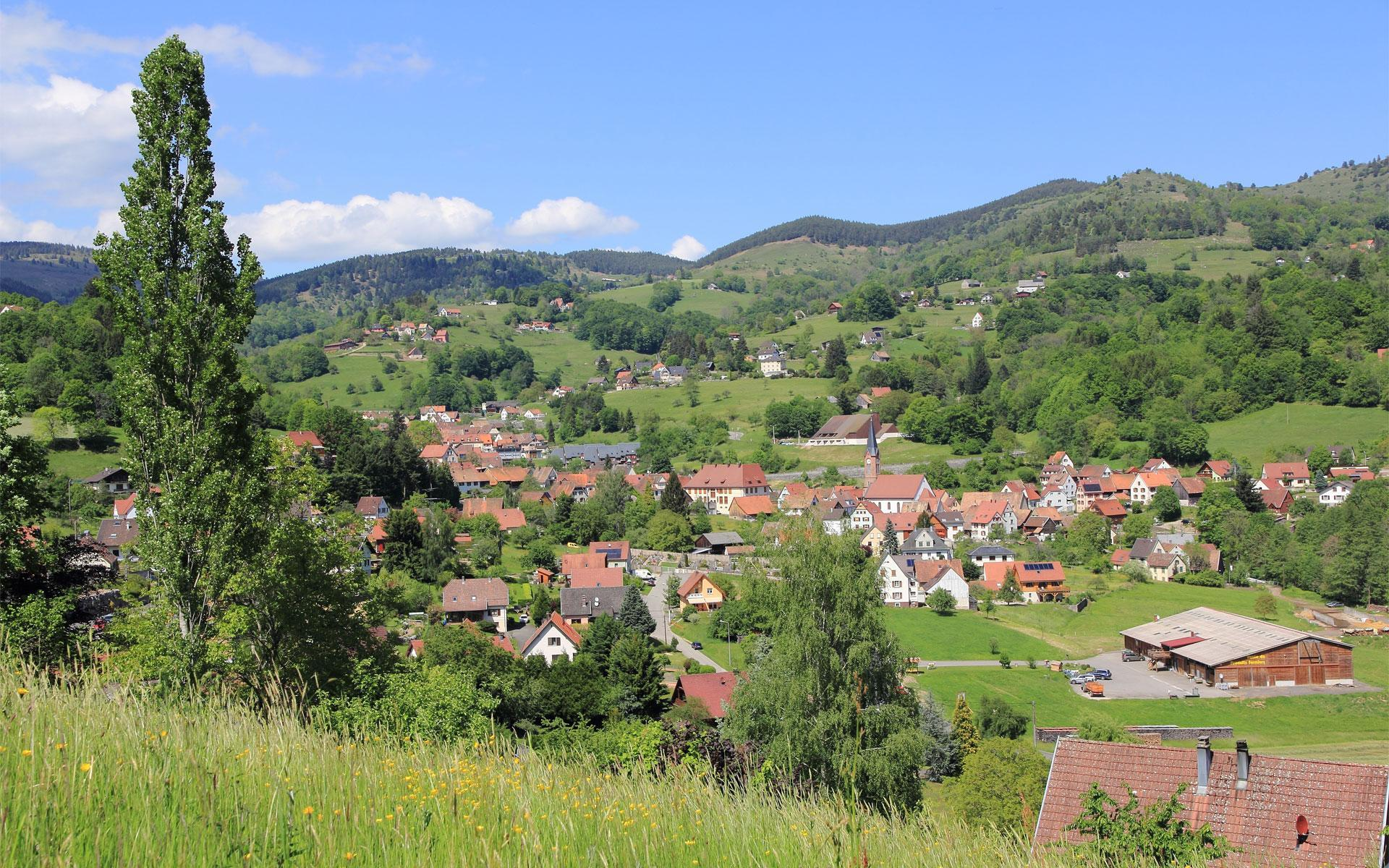 Soulteren: one of the villages in the Munster Valley
